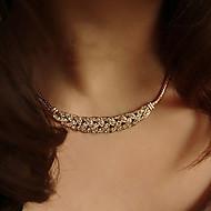 Dame Kort halskæde Vintage Halskæder Tatovering Choker Sølvbelagt Guldbelagt Legering Tatovering Mode Sølv Gylden Smykker ForBryllup Fest
