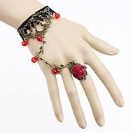 Dame Ring Bracelets Bijuterii Gothic Dantelă Negru Rosu Verde Liliac Bijuterii Pentru Petrecere Zilnic Casual Cadouri de Crăciun 1 buc