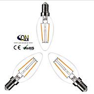 Lampade LED a incandescenza 2 COB ONDENN A E14 2 W Intensità regolabile 200 LM Bianco caldo 3 pezzi AC 220-240 V