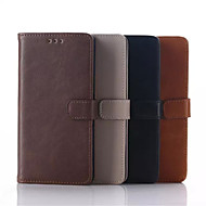 5 Inch Luxury Pattern PU Wallet Leather Case with Stand for Sony Xperia M4 Aqua(Assorted Colors)