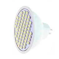 5W LED-kohdevalaisimet MR16 60LED SMD 3528 360-750 lm Lämmin valkoinen / Kylmä valkoinen AC 220-240 V 1 kpl