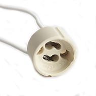 enkelt stik ledninger GU10 lampe holder