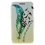 Για Samsung Galaxy Note Θήκη καρτών / με βάση στήριξης / Ανοιγόμενη tok Πλήρης κάλυψη tok Φτερό Συνθετικό δέρμα SamsungNote 5 Edge / Note