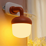 0.5 W Warm White AC Sensor/Remote Controlled Night Light/Decoration Light AC 220 (Assorted Color)