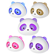 Panda Type Style Fashion Perfume Tuyere Adornment / Air Freshener (pair) (Assorted Colors)