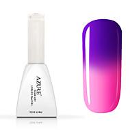 lazurowy kolor paznokci żelem uv zmieniając # -24 # polish13 (12 ml, 48 kolorów)