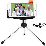 Practical Metal Tripod with Clip Stand for iPhone 6 / 6 Plus Samsung Galaxy S2 S3 Note 2 Note3 etc