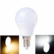 3W E14 Lâmpada Redonda LED 6 SMD 2835 100-200 lm Branco Quente / Branco Frio AC 220-240 V 1 pç