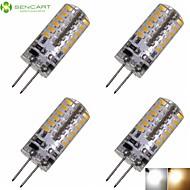 4 x G4 GZ4 MR11 MR16 3W 48x3014SMD 280LM Warm/Cool White Waterproof LED Corn Bulbs AC/DC12-16V AC220V-240V