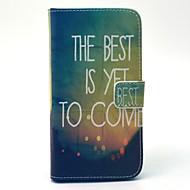 Mert Samsung Galaxy tok Pénztárca / Kártyatartó / Állvánnyal Case Teljes védelem Case Látvány Kemény Műbőr SamsungS6 edge / S6 / S5 Mini