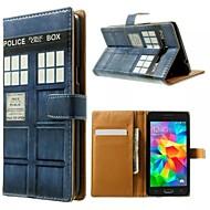 Para Samsung Galaxy Capinhas Porta-Cartão / Com Suporte / Flip / Estampada Capinha Corpo Inteiro Capinha Desenho Couro PU SamsungGrand