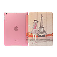 Non-Detachable Smart Cover with Back Case  for Apple iPad Air  Ultra Thin Foldable  Stand (Assorted Colors)
