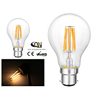 ONDENN B22 8 W 8 COB 800 LM 2800-3200K K Warm White A Dimmable Globe Bulbs AC 220-240/AC 110-130 V
