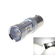 1 pcs 1156 30W 6X High Power LED 1200LM 6000-6500K Cool White Decorative Decoration Light DC 24/DC 12V