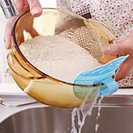 clip coladores diseño sonrientes escurridor cara cocina coladores (color al azar)