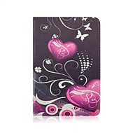 Colored Drawing PU Leather Full Body Case with Stand for iPad mini/mini2/mini3