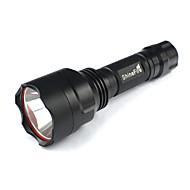 5 Mode 250 Lumens LED Flashlights 18650 Rechargeable/Nonslip grip/Emergency/Pocket LED LEDCamping/Hiking/Caving/Everyday