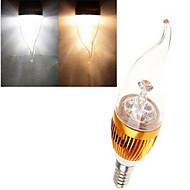 1 Stück dingyao Kerzenlampen E14 12 W 380 LM 2800-3500/6000-6500 K High Power LED Warmes Weiß / Kühles Weiß AC 85-265 V