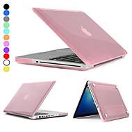 """dura cristalina hat-príncipe pc protectora caso de cuerpo completo para MacBook Pro 13,3 """"(colores surtidos)"""