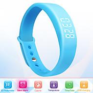 Unisex Smart Bracelet Multifunctional Reminder 3D Pedometer Watch