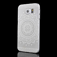 Sunflower Pattern Transparent PC Material Phone Case for Samsung Galaxy S6 edge/S6/S6 edge plus