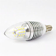 MORSEN® 7W E14 700-750LM 6000-6500K Cool White Color LED Candle Lights (85-265V)