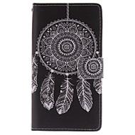 Mert Samsung Galaxy Note Pénztárca / Kártyatartó / Állvánnyal / Flip Case Teljes védelem Case Álomvadász Műbőr Samsung Note 4