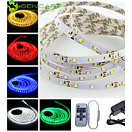 5M 25W 300x3528SMD LED Strip Lights + EK Power Supply Adapter + 11Key Remote Controller AC100-240V