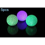 5pcs MORSEN® 1W RGB Color Crystal Ball Lamp Night Light