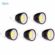 5pcs MORSEN® 7W GU10 500-550LM Support Dimmable Cob Led Spot Light Lamp Bulb
