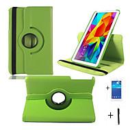 """360 rotation cuir stand de cas pour onglet 4 8.0 """"tablette T330 + protecteur d'écran + stylet Samsung Galaxy"""