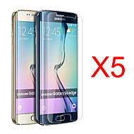 gym 5pcs hd skjerm film for samsung galaxy s6 kanten g9250