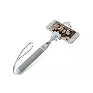 Extendable Bluetooth Control Self-portrait Monopod Selfie Handheld Stick  for iPhone 5s/ 6/Samsung