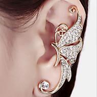 Ear Cuffs Kamienie zodiakalne Stop White Purple Biżuteria Na Ślub Impreza Codzienny Casual 1szt