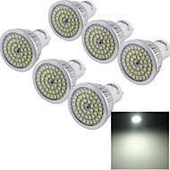6 stk. YouOKLight GU10 6 W 48 SMD 2835 610 LM Kold hvid Dekorativ Spotlys AC 85-265 V