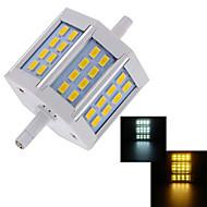 1 pcs Ding Yao R7S 10W 24X SMD 5730 660-750LM 2800-3500/6000-6500K Warm White/Cool White Recessed Lights AC 85-265V