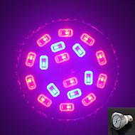 morsen® e27 8w 200lm 12red y smd18 6blue bombillas led para el sistema hidropónico de plantas con flores llevado crece ligero (85-265v)