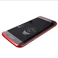 Mert Samsung Galaxy tok Ütésálló Case Védőkeret Case Egyszínű Fém Samsung S6 edge
