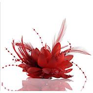 Női Csipke Gyöngyutánzat Sifon Sisak-Esküvő Különleges alkalom Hétköznapi Szabadtéri Fejdíszek Virágok Vjenčići 1 darab