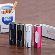 yuehuo f2 portable&créative usb cigarette électronique plus léger - couleurs assorties