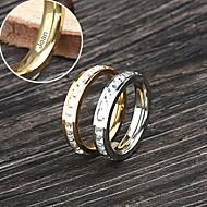 Personlig Smycken - Älskare - av Rostfritt stål - i guld/silver - Ringar