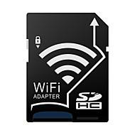 -j como wifi inalámbrico microsdhc a SDHC adaptador de cuota de tarjeta de memoria sd