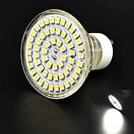 JMT-GU10 4W 400lm 6000K 60x3528SMD LED White Dimming Light Corn Bulb (AC85-265V)