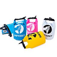 2 L Dry Bag Impermeabile Viaggi Duffel Nuoto Spiaggia Emergenza Sopravvivenza Sicurezza Scuola Campeggio e hiking ViaggiOmpermeabile