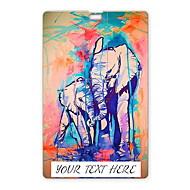 usb flash drive personalizado aguarela flash drive 32gb elefante design de cartão usb