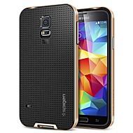 For Samsung Galaxy etui Stødsikker Etui Bagcover Etui Helfarve Silikone for Samsung S5