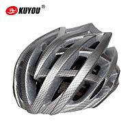 男女兼用 - サイクリング/マウンテンサイクリング/ロードバイク/レクリエーションサイクリング - フルフェイス/マウンテン/ロード/スポーツ - ヘルメット ( グレー , PC/EPS ) サイクリング/マウンテンサイクリング/ロードバイク/レクリエーションサイクリング