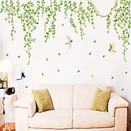 seinä tarroja Seinätarrat, tyyli vihreät lehdet pvc seinä tarroja