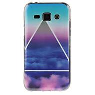 Για Samsung Galaxy Θήκη IMD tok Πίσω Κάλυμμα tok Τοπίο TPU Samsung J7 / J5 / J1