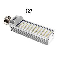 e27 / g24 7w 660lm 3000k 66x3014smd lumière blanche chaude conduit ampoule de maïs (AC85-265V)